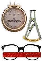 Lens Clocks & Rulers - Optical Supply