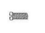 Phillips Head Eyewire Screw, Size 1.37x4.5 (pkg of 100)