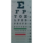 20 ft. Snellen Eye Chart