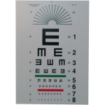 "Tumbling ""E"" Eye Chart - 10 ft"