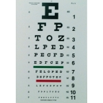 10 ft. Snellen Eye Chart