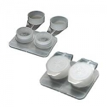 Deep Well Flat Pack Lens Case (100/bag)